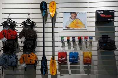 accessories at nigel foster kayak store